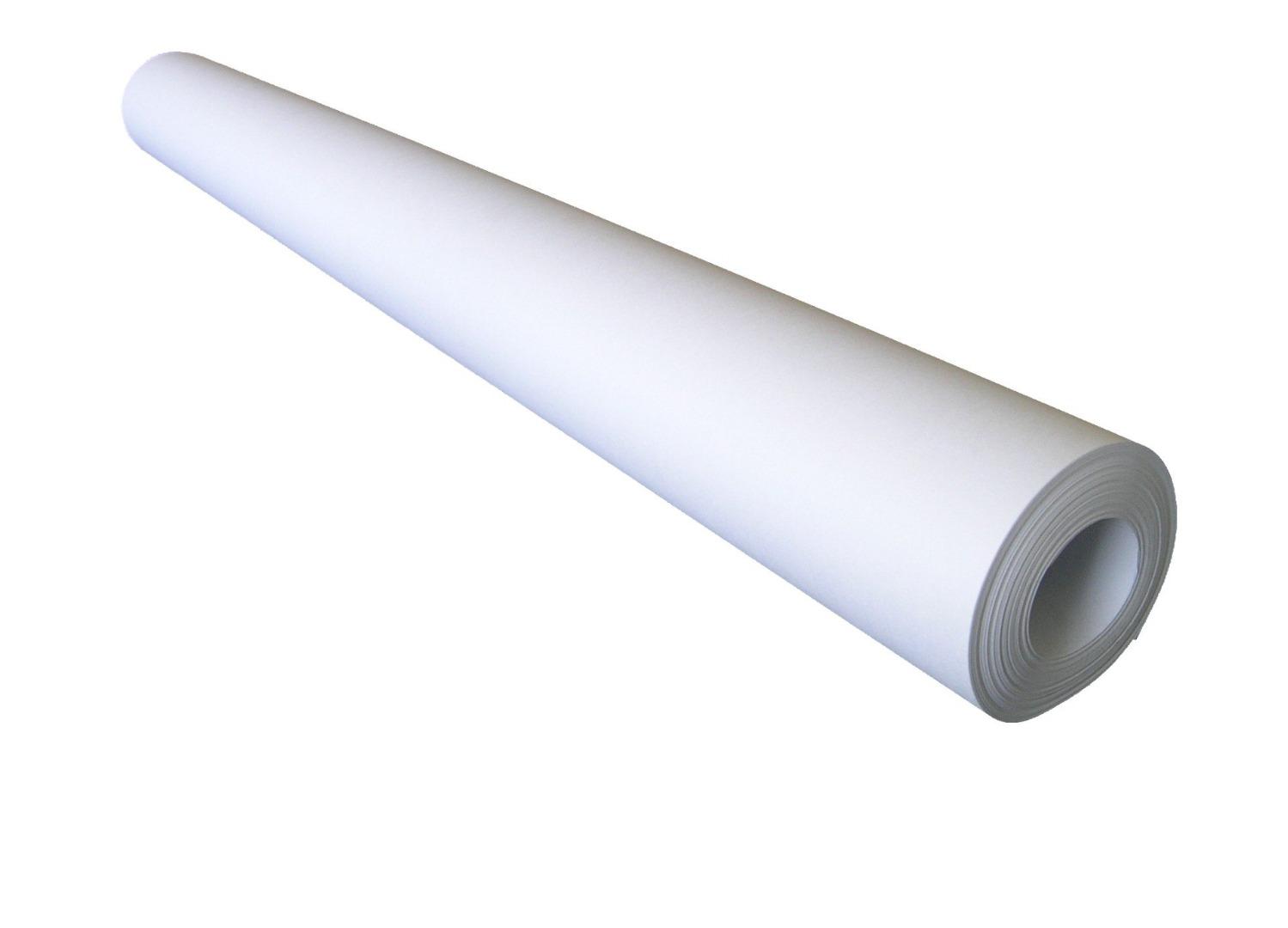 1Rolle Zuschnittpapier weiß