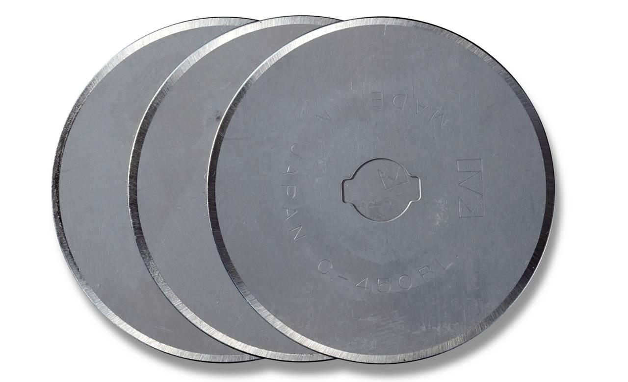 1Set Ersatzklingen für Rollschneider mm Prym