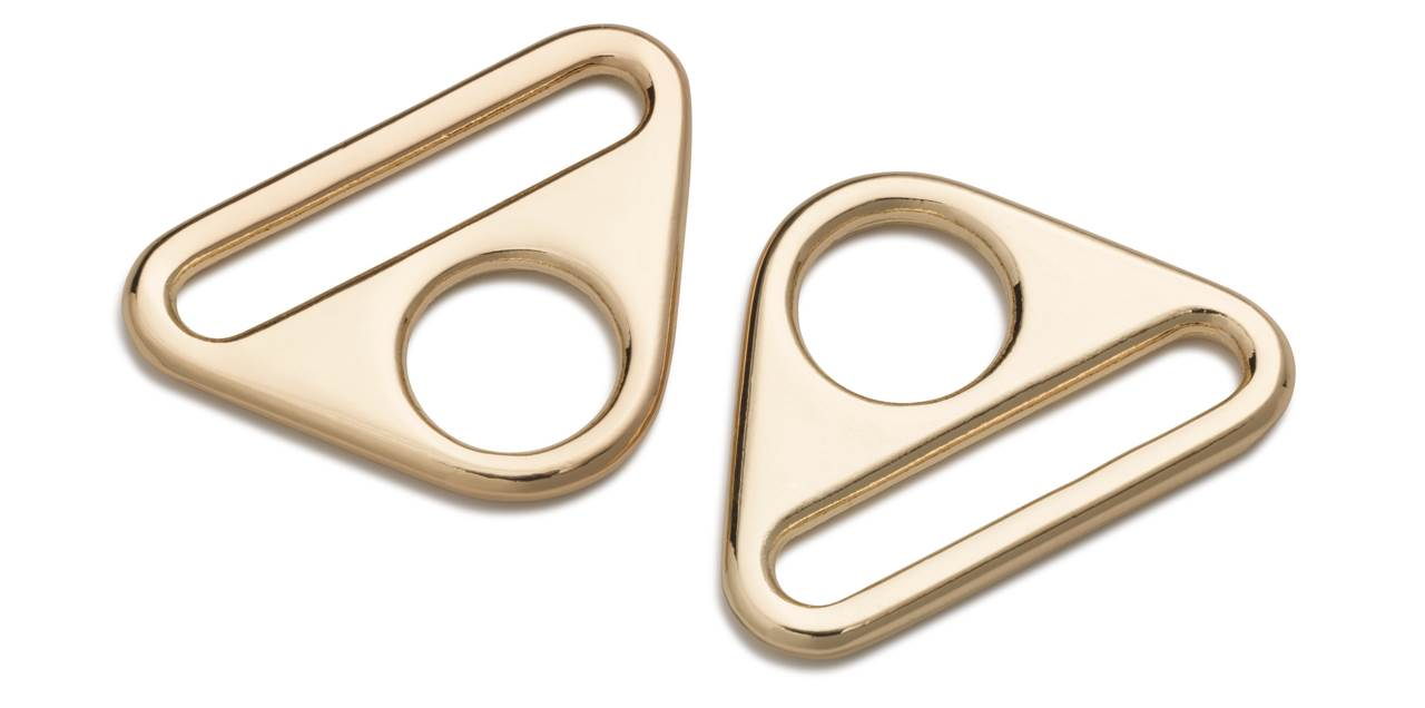 1Pck Triangel-Ringe mit Steg mm Prym
