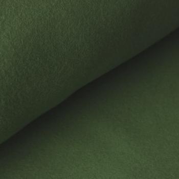 05m BW Fleece Organic cypres grün
