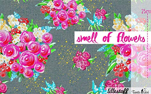 05m Lillestoff Jersey smell of flowers