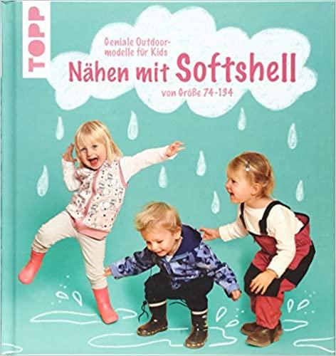 Buch Nähen mit Softshell Gr 74-134