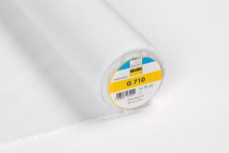 05m Gewebeeinlage G710 Vlieseline weiß