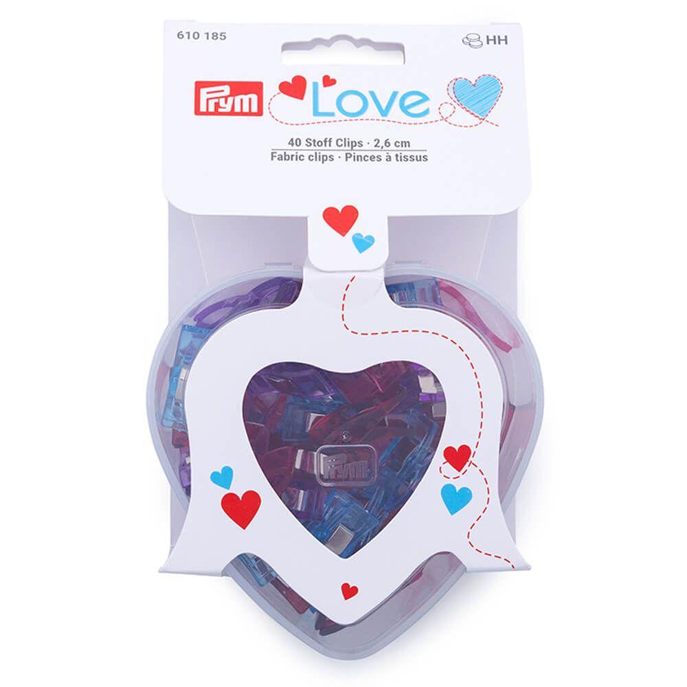 Stück Prym Love Clips Herzbox mit