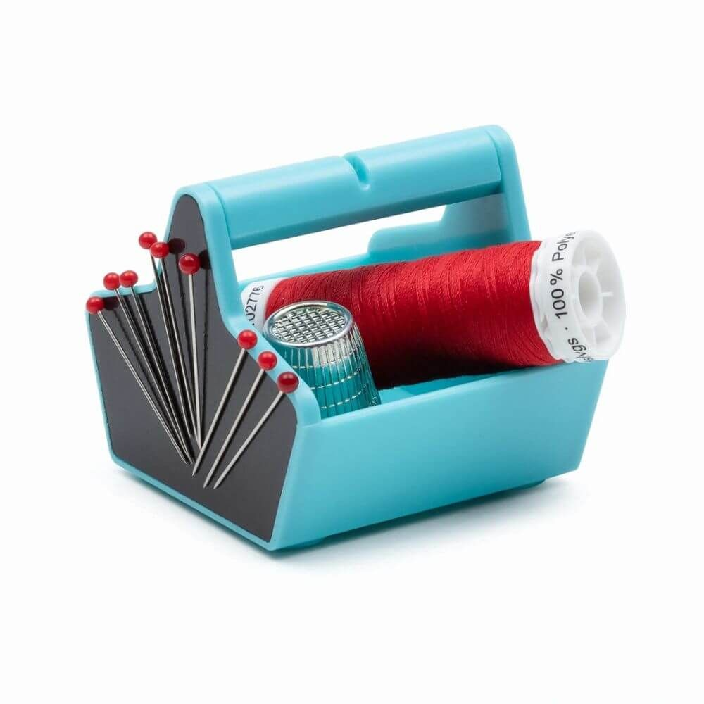 1Stk Prym Love Miniwerkzeugkasten Utensilo türkis