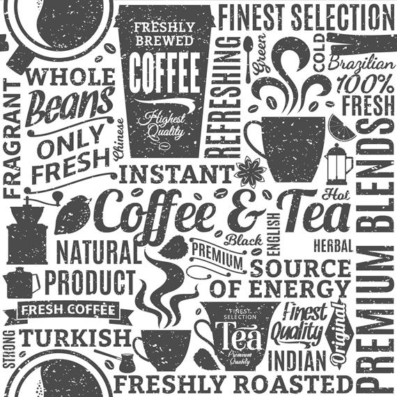 05m BW Coffee Tea Kaffee Motive
