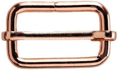 1Stk Leiterschnalle 30 mm roségold
