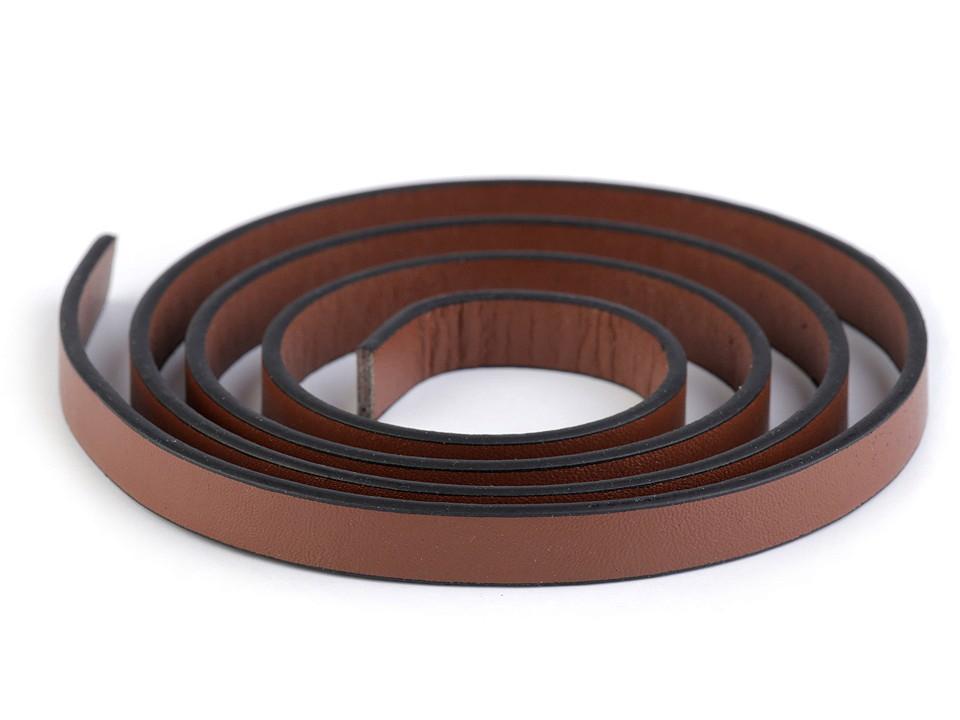 1m Kunstleder Henkel braun 10mm breit