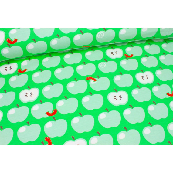 05m Jersey Äpfel mit Wurm by