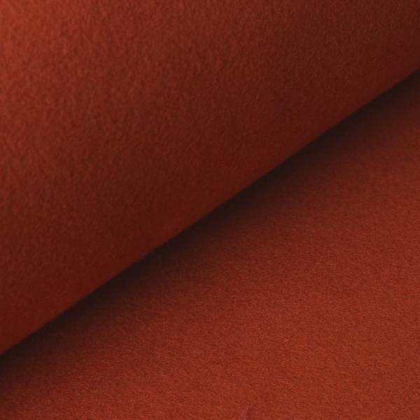 05m BW Fleece Organic terra ziegelrot