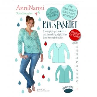 1Stk Blusenshirt Papier Schnittmuster by anninanni