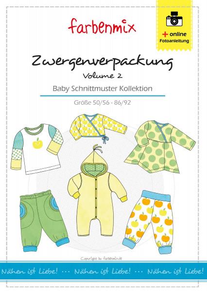 1Stk Zwergenverpackung Volume Papier Schnittmuster by