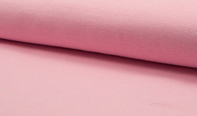 05m Bündchen glatt rosa baby rosa