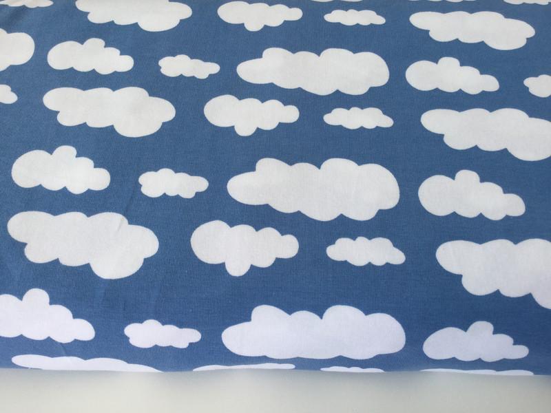 0,5m Jersey Vicente Wolken Rauch blau weiß