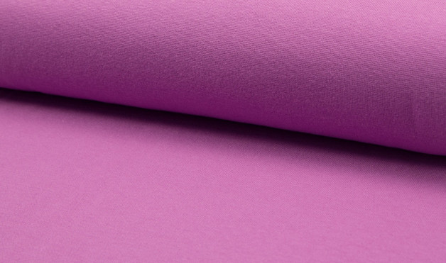 05m Bündchen glatt purple Lila - 1