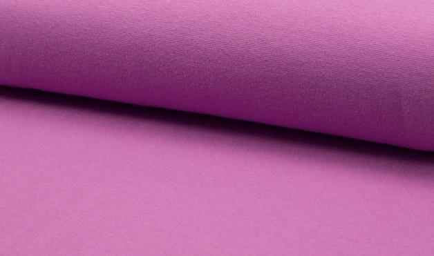 05m Bündchen glatt purple helles lila