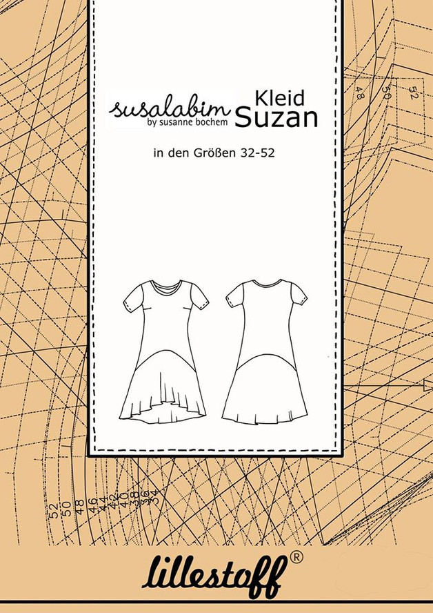 Papier Schnittmuster Kleid Suzan Susalabim - 1