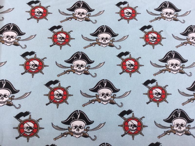0 5m Sommersweat Piraten Seemann hellblau