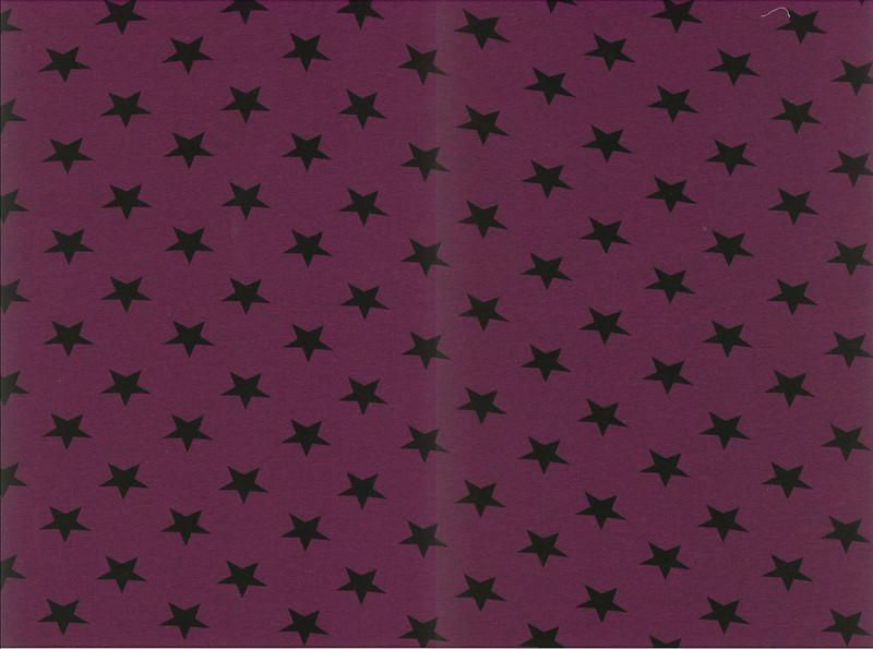 0 5m Jersey Kito Sterne meliert jeansblau schwarz