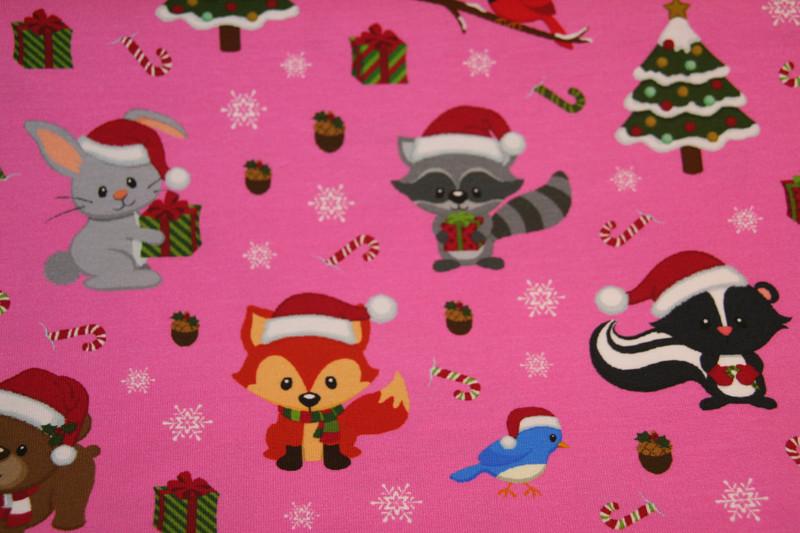 0 5 m Jersey Weihnachtstier xmas Weihnachten pink