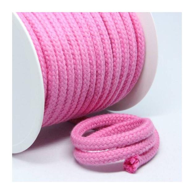 1m Baumwollkordel 10mm dick pink