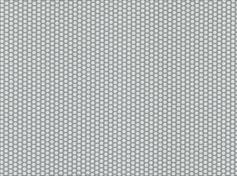 0 5m beschichtete Baumwolle Fresh Dots grau weiss