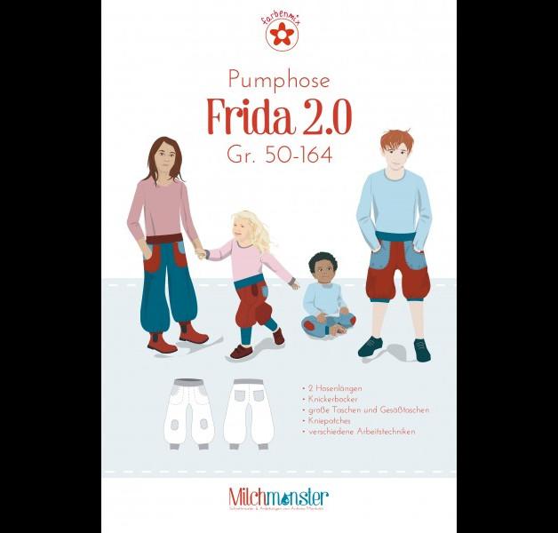 Schnitt Pumphose Frida Gr 50-164 Milchmonster - 1