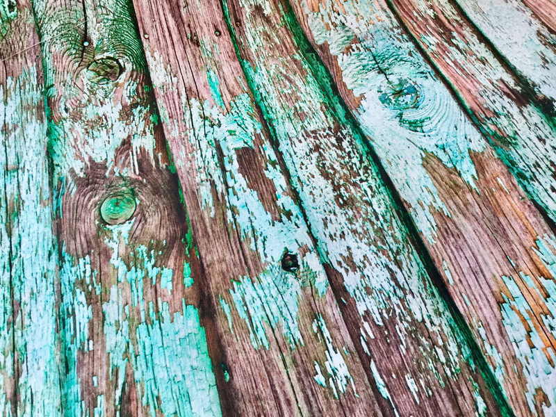0 5m feste Baumwolle Canvas Altes Holz Planken pe