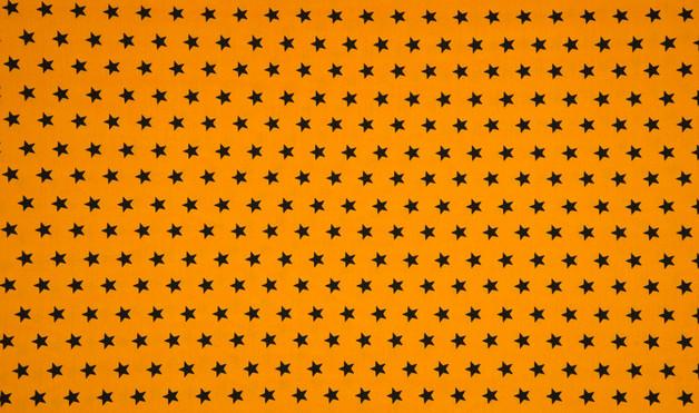 05m Jersey Sterne ockergelb schwarz