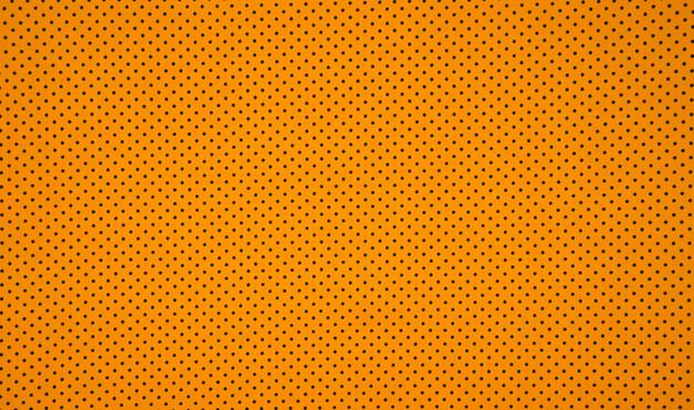 0 5m Jersey Mini Punkte schwarz ocker gelb