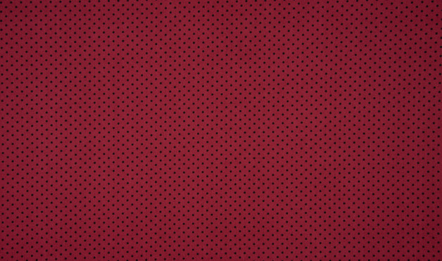05m Jersey Mini Punkte schwarz weinrot