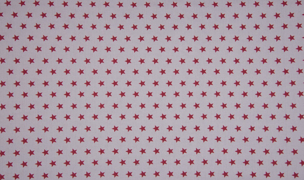 0 5m Jersey Sterne grau weinrot dunkelrot
