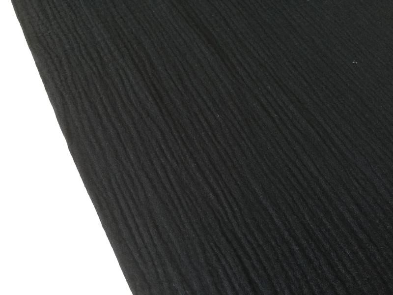 05m Musseline Double Gauze schwarz