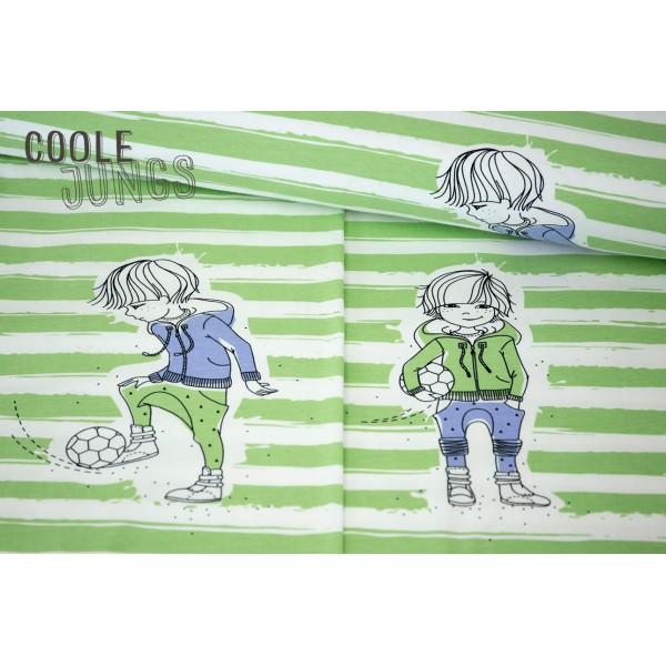 Rapport Jersey Coole Jungs Fußballer Grün - 2