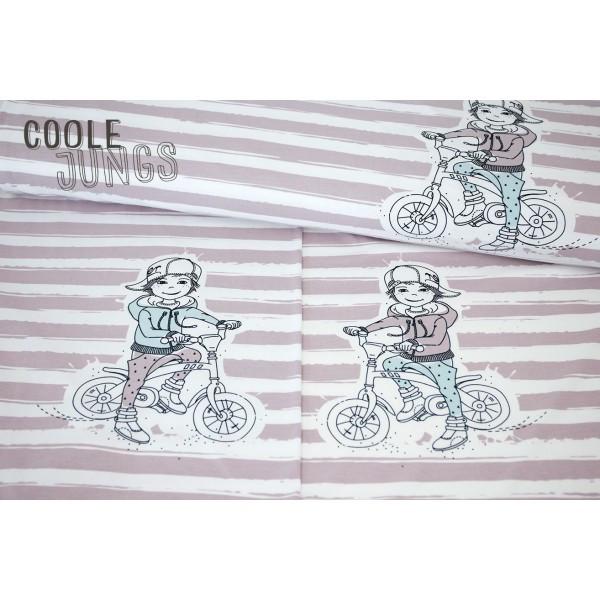 1Panel Jersey Coole Jungs Biker Nikiko