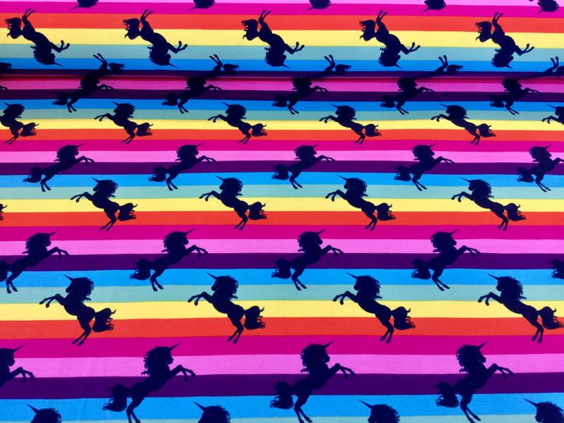 05m Jersey Einhorn Unicorn Regenbogen bunt