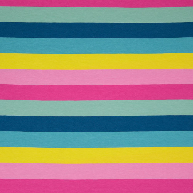 0 5m Ringel Jersey Streifen Lou Multi bunt 3cm