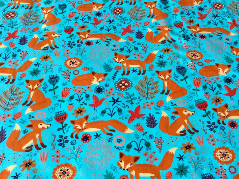 05m Jersey Fuchs Fox Türkis orange - 3