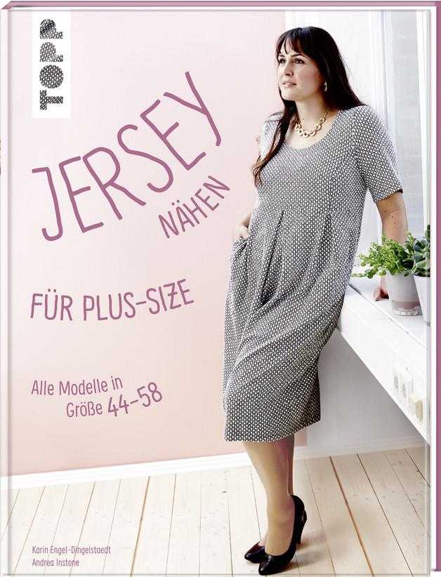 Jersey naehen fuer Plus-Size Groesse 44-58