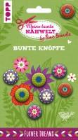 Bine Braendle Bunte Knoepfe Flower Dreams 8 Knoepfe