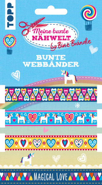 Bine Braendle Bunte Webbaender Magical Love