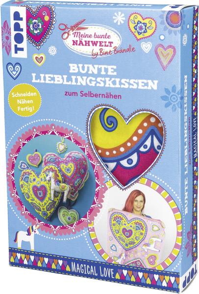 1Stk Bine Brändle Bunte Lieblingskissen DIY