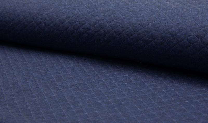 0 5m Jersey Melange Stepper jeans blau meliert