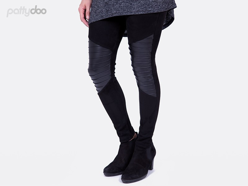 Schnittmuster Tara Biker Leggings by pattydoo