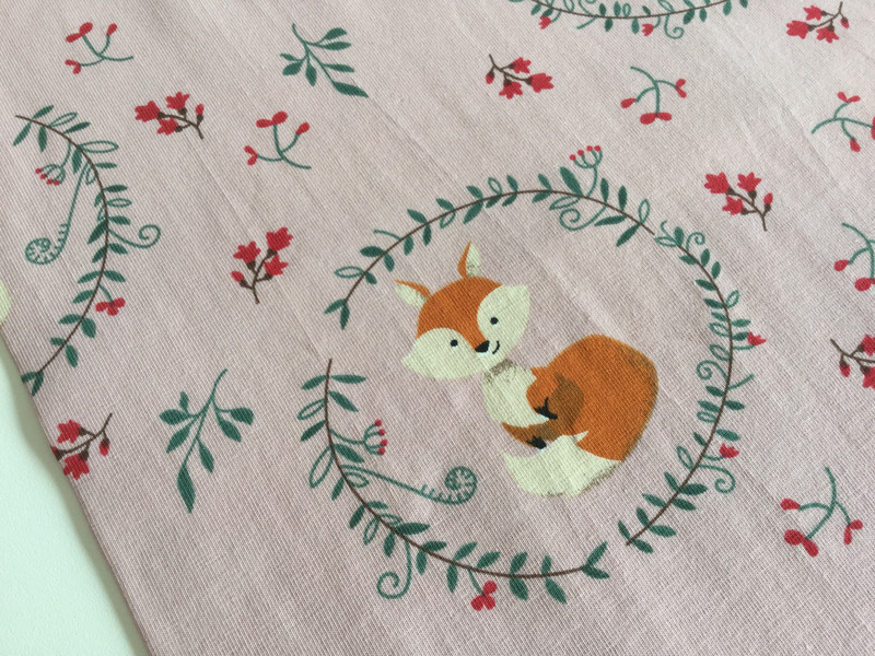 0 5m JerseyFuchs Fox Rosa Ornamente