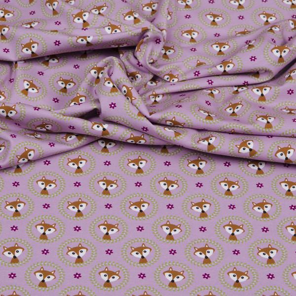 0 5m Jersey Fox Ornaments Fuchs rosa gruen