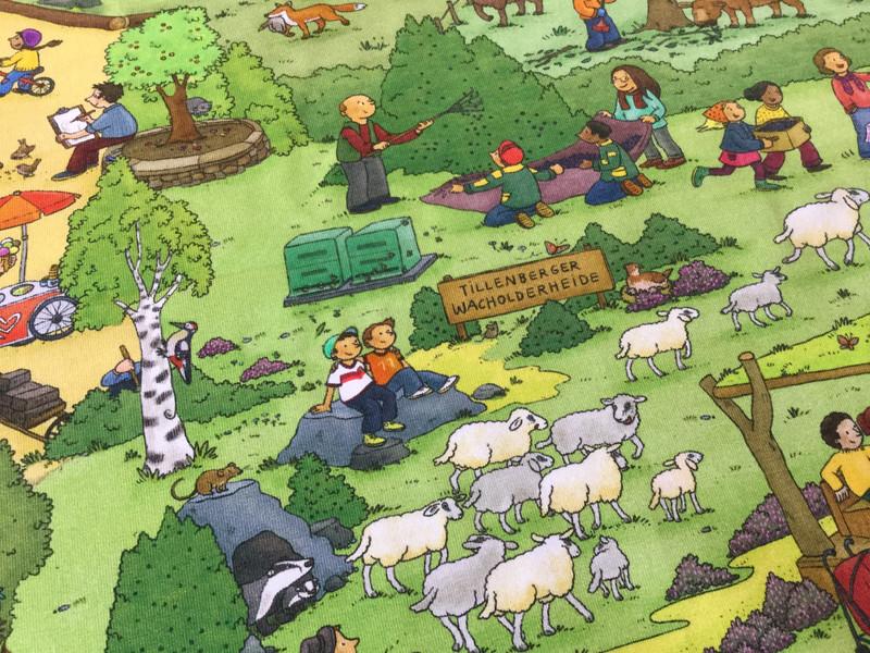 0 5m Jersey Tierpark Nordhorn Wimmel bunt Zoo