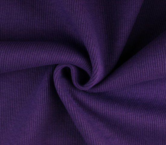 0,5m Bündchen Bibi lila purple 510 - 3