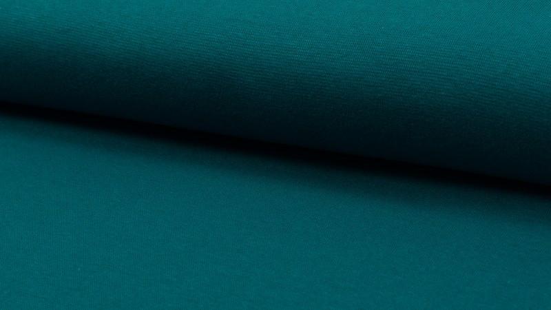 05m Bündchen petrol glatt - 1