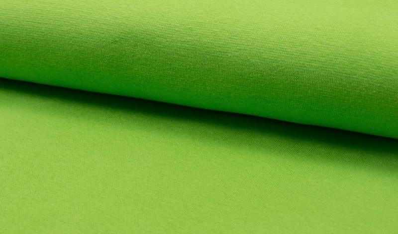 05m Bündchen lime grün hellgrün glatt - 1